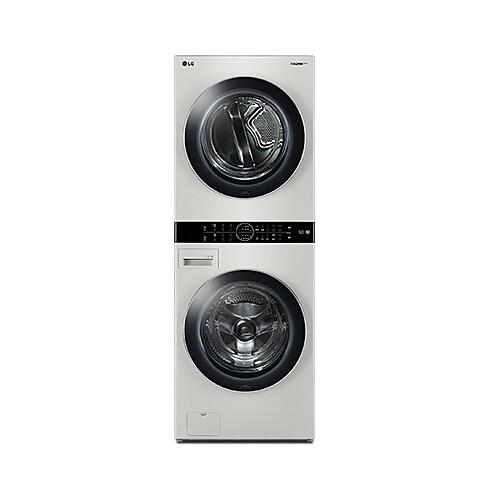 LG전자 W16ET 트롬 워시타워 원바디세탁건조기 샌드 베이지, 세탁기/세탁기