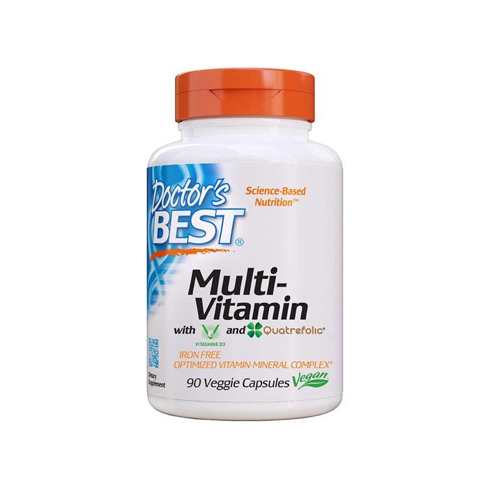 Doctors Best 닥터스베스트 종합비타민 미네랄 90정 Best Multi-Vitamin Formulation for Vitamins 90Caps, 옵션없음, 옵션없음