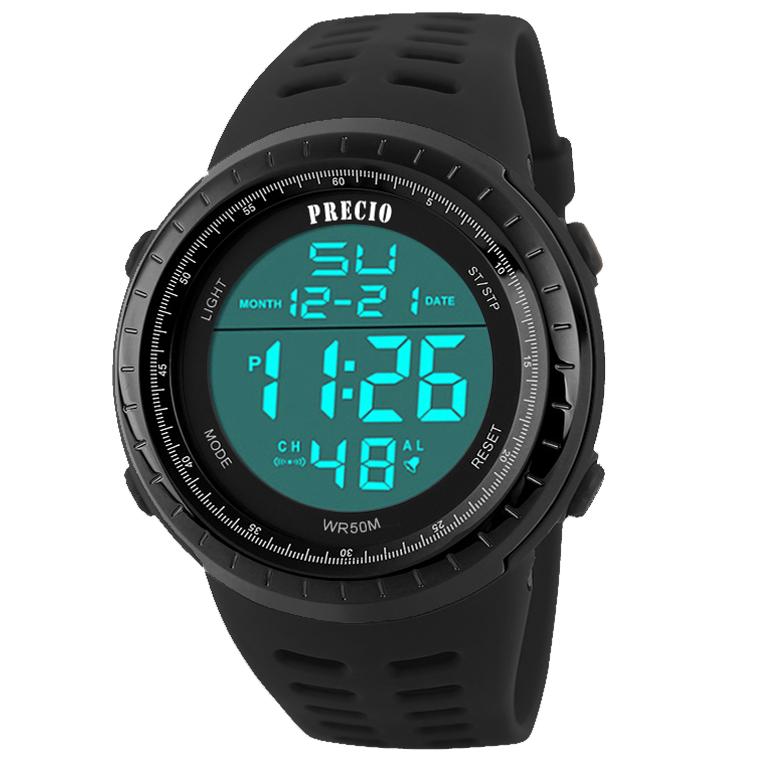 프레시오 남자스포츠전자손목시계 군인 군용 방수 N67