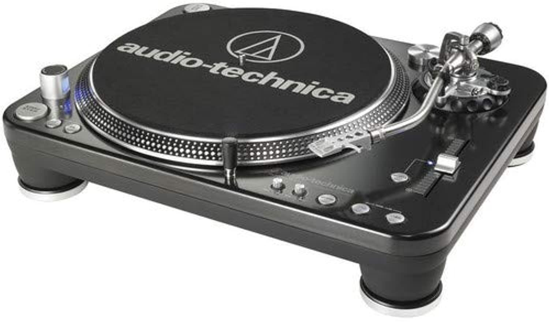 Audio-Technica Store 오디오-테크니카 AT-LP1240-USB 다이렉트 드라이브 프로페셔널 DJ 턴테이블 (USB, 상품상세참조
