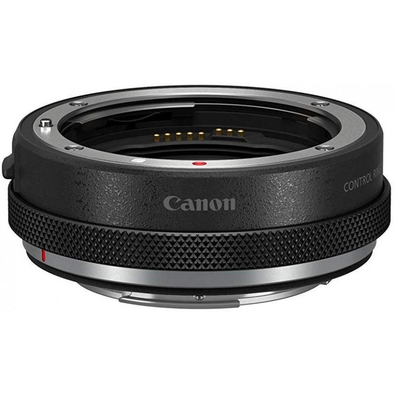 Canon 컨트롤 링 마운트 어댑터 EF-EOS R EOSR 대응 블랙 φ74.4 × 24mm CR-EF-EOSR, 단일상품
