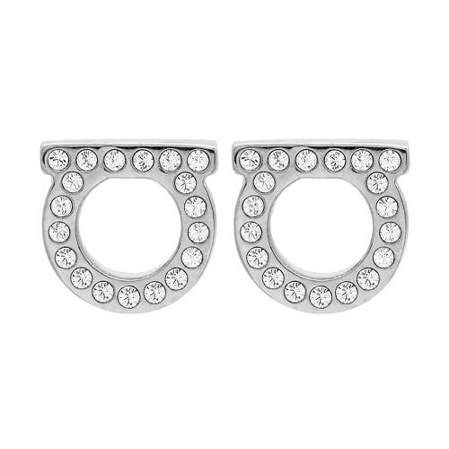 [페라가모] 간치니 크리스탈 76 0123 002 0696577 공용 귀걸이
