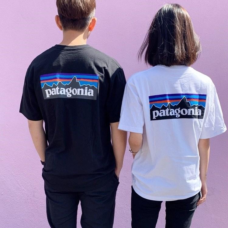 파타고니아 P-6 로고 리스판서빌리 반팔 티셔츠