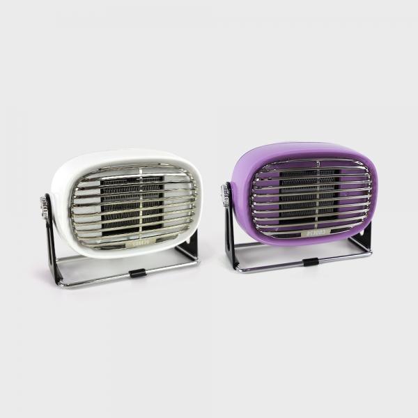 라온하우스 [(주)씨엠26] 코드26 미니 소형 PTC히터 온풍기 발난로 핑크 / 캠핑용온풍기, 709987