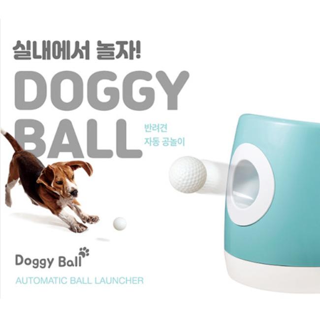 내새끼코리아 도기볼 Doggy Ball 강아지 공놀이 장난감, 1개, 민트