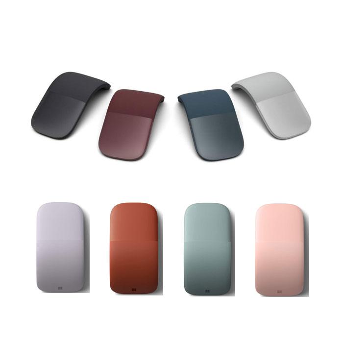 마이크로소프트 뉴서피스 아크 블루투스 마우스 8종/Microsoft New Surface Arc Bluetooth Mouse 8 Color, 단일상품, 4. Light Grey