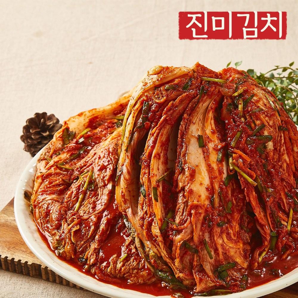 [진미김치] 전라도 포기김치 5kg, 1개