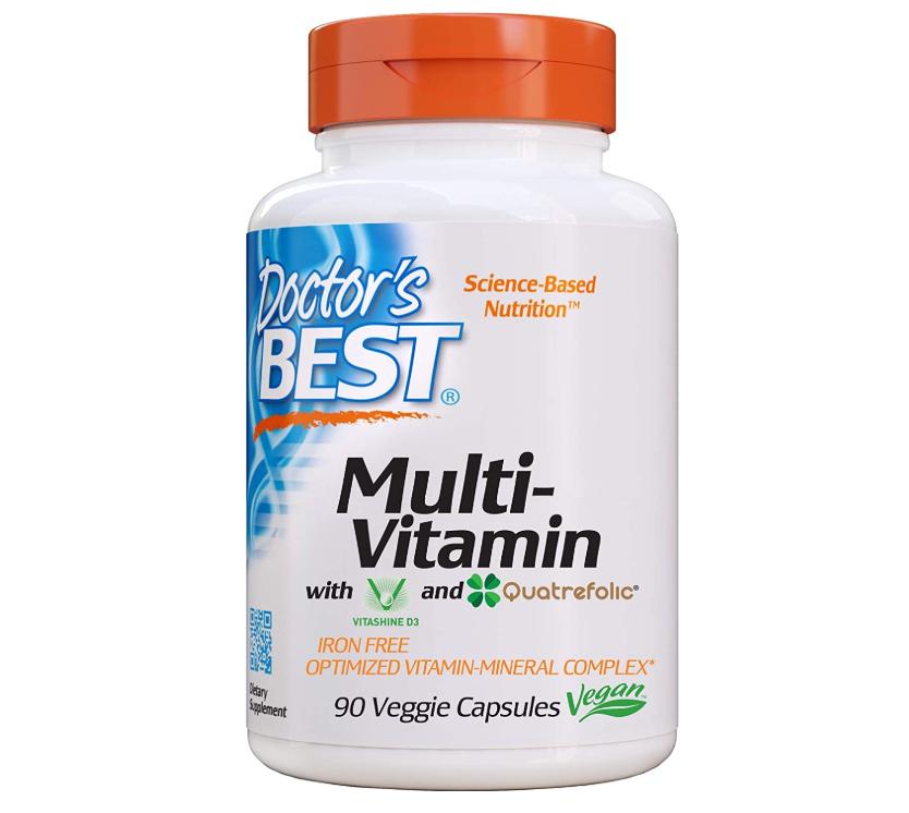 닥터스베스트 철없는 멀티비타민 식물캡슐 90정, 종합비타민