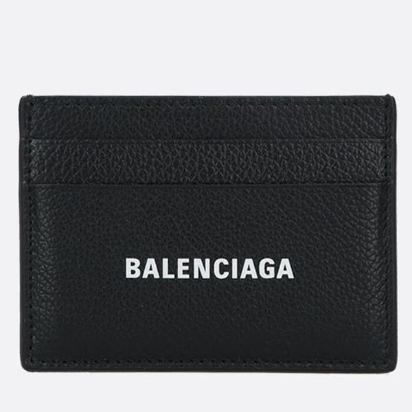 BALENCIAGA 발렌시아가 로고 공용 카드지갑 홀더 5943091IZI31090 ..