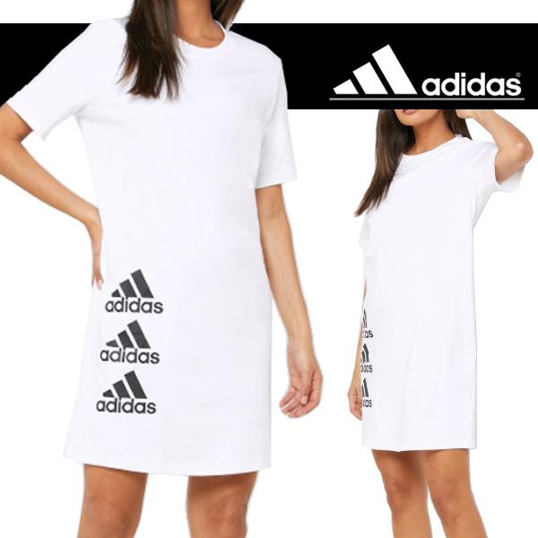 아디다스 우먼 스택 티 드레스 (FI4631)