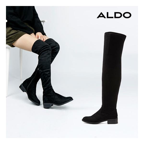 [알도] ALDO 여성 플랫 롱부츠 아라시아 ARAECIA (AD18F130508407_A