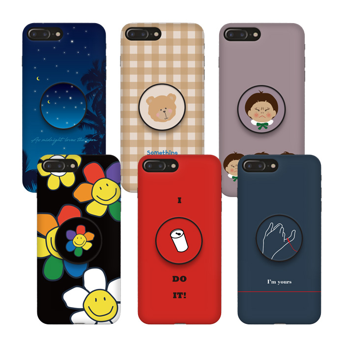 AMISTAD [세트] 감성디자인 케이스+스마트톡 휴대폰 케이스