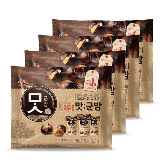 [CJ제일제당] 맛군밤 60g x 12봉, 없음, 상세설명 참조