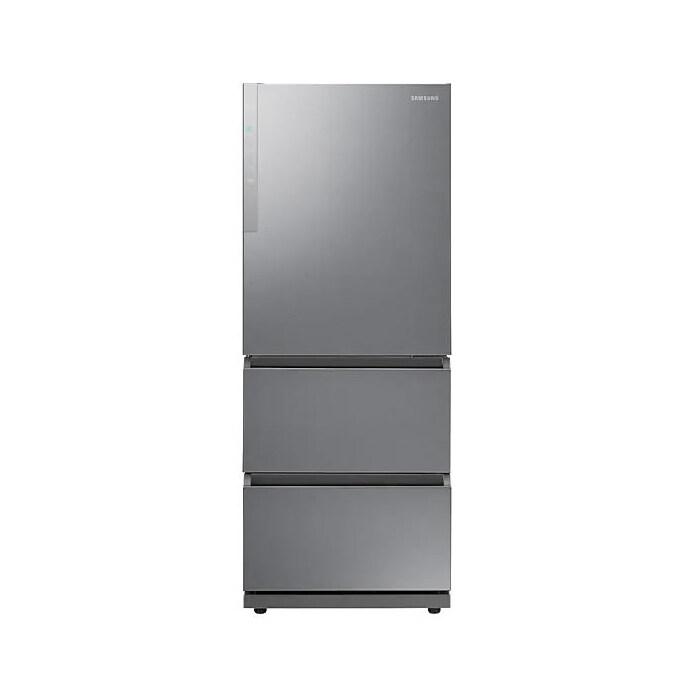 [신세계TV쇼핑][삼성] 김치플러스 3도어 스탠드형 김치냉장고 328L EZ Clean Steel RQ33R7103SL, 단일상품
