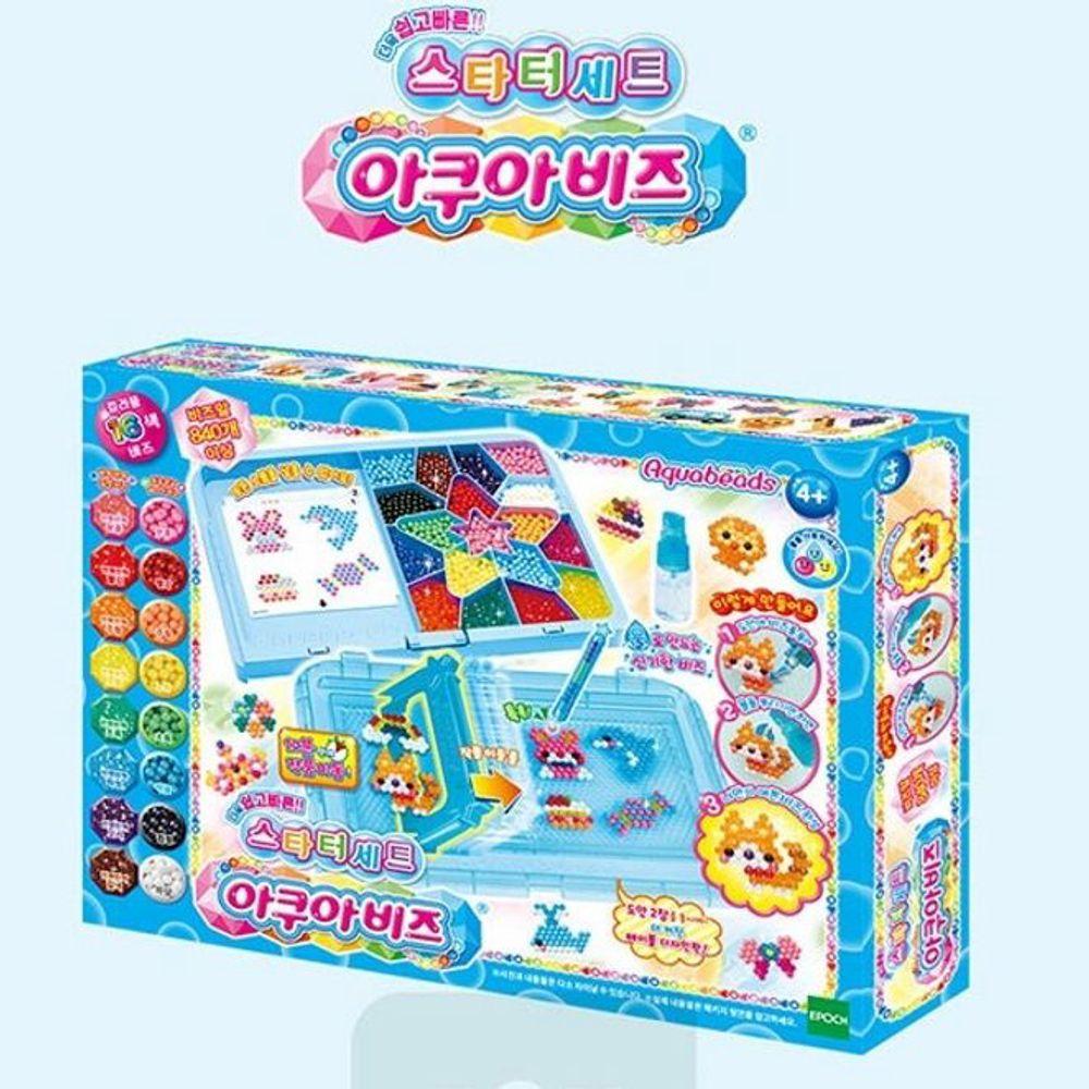 YJ+ 워터비즈 아쿠아비즈스타터 +WT+ 어린이 장난감 구슬 놀이 아쿠아비즈 스타터 세트 장난감 아쿠아비즈스타터 워터비즈