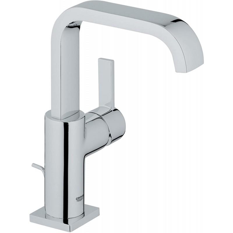 Allure 싱글 핸들 싱글 홀 하이 스파우트 욕실 수전-1.2 GPM, 1