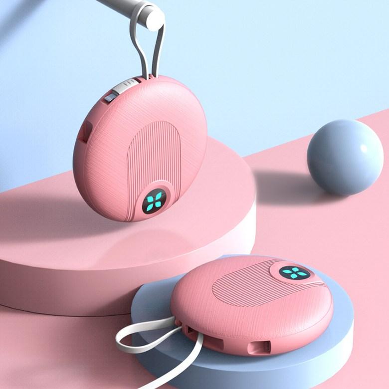 귀욤폭발 초소형 가벼운 고속충전 초경량 미니 보조배터리, 핑크 2w mA 실제 약 1.2w mA 테스트