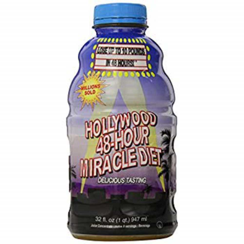 구매대행 Hollywood Diet Herbal Clean 48Hour Miracle  32 fl oz 1