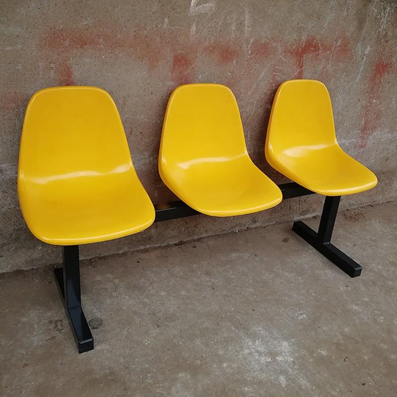 야외 벤치 로비 정류장 의자 라운지 체어 3인, 단품