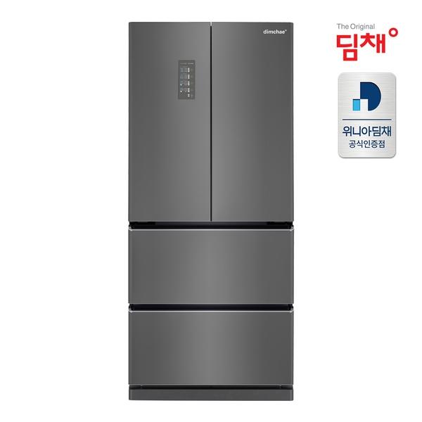 딤채 [D]딤채 스탠드형 김치냉장고 EDQ57DFRZKS [ 551L / 4룸 ], 단일상품