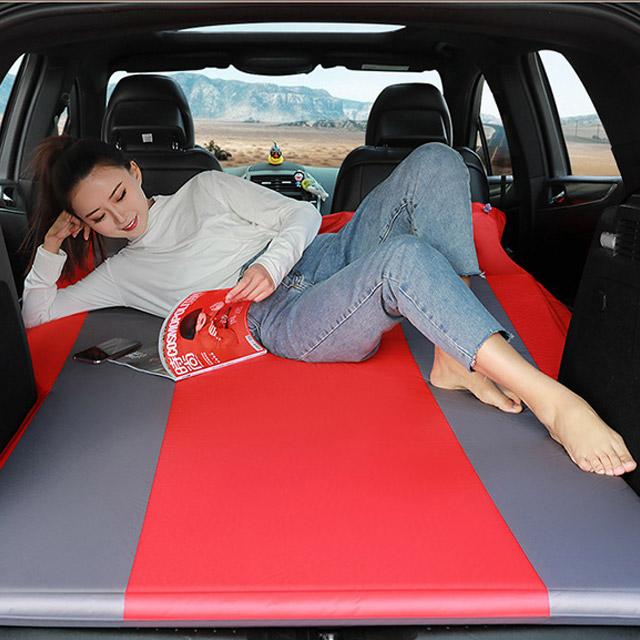livingcamp SUV 차량용 캠핑매트 132cm x 188cm, 블랙