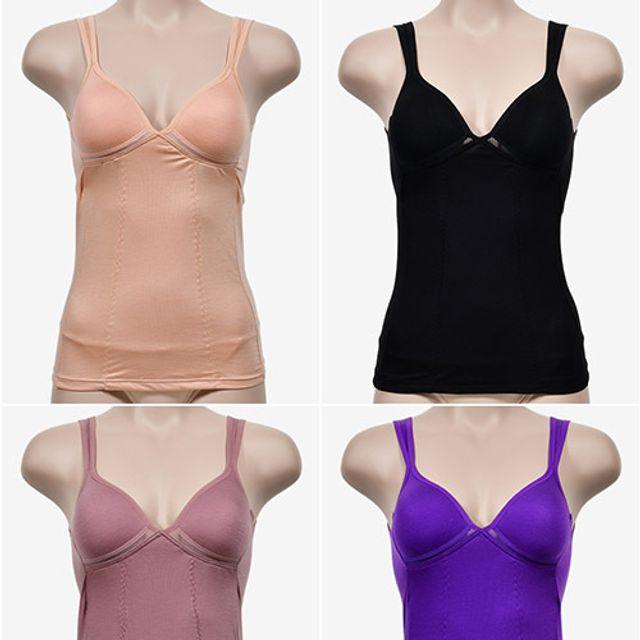 MG 여성 복부 보정속옷 슬림이너웨어 B컵 브라 런닝