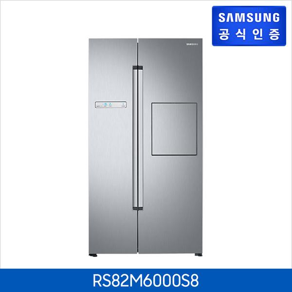 삼성전자 삼성 양문형냉장고 RS82M6000S8 (815L), 단일상품