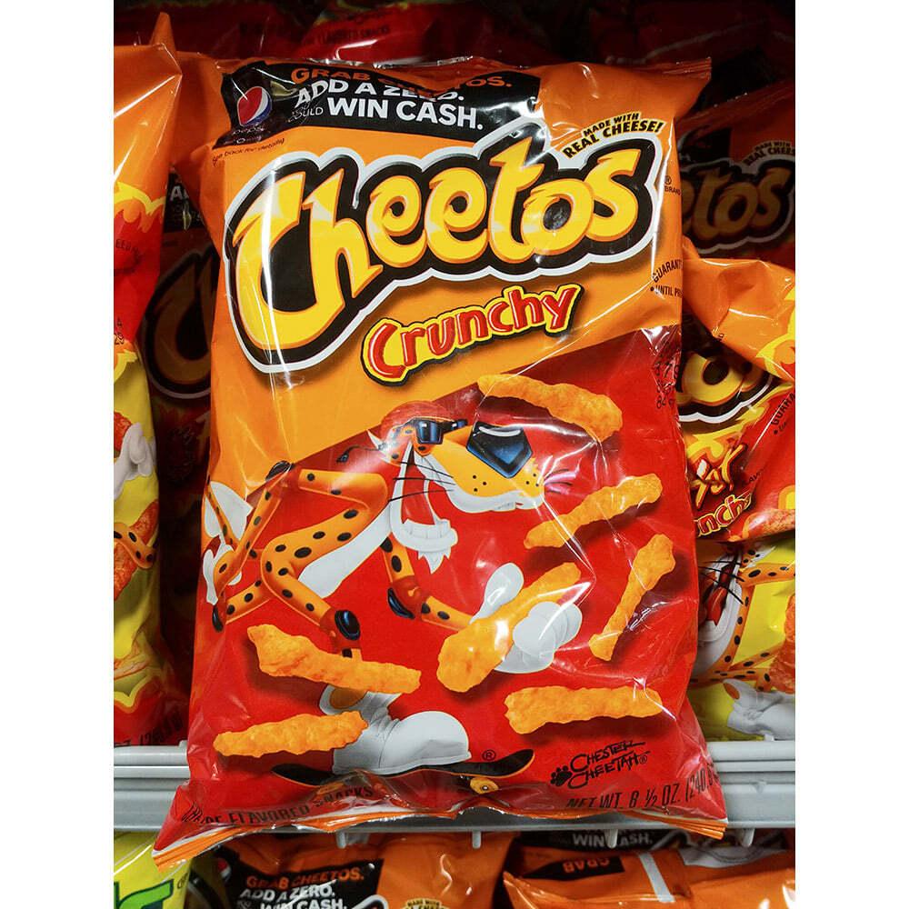 Cheetos 치토스 크런치 스낵 240.9g x2, 2개
