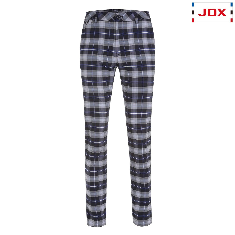 [JDX] 남성 장식 포켓 선염 체크 팬츠(X1SSPTM08NA)