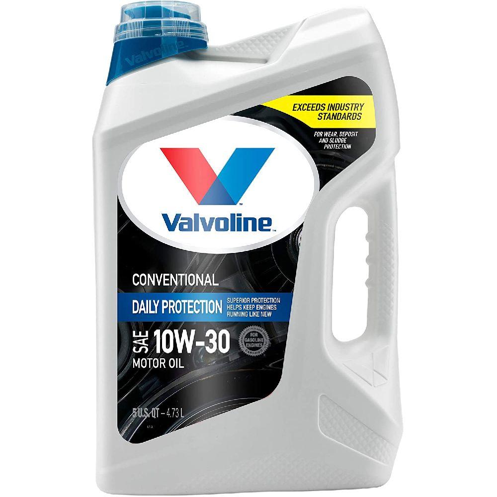 Valvoline VALVOLINE 매일 보호 SAE 10W (30) 기존의 모터 오일 (5) QT, 5 QT10W-30