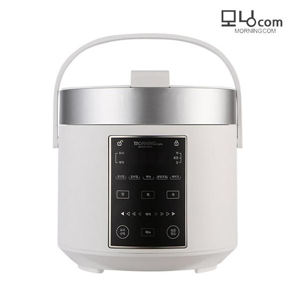 대웅모닝컴 3인용 미니 전기압력밥솥 멀티쿠커 (DW-0304), 화이트