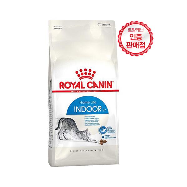 로얄캐닌 인도어 27 고양이 사료 성묘용, 4kg, 1개