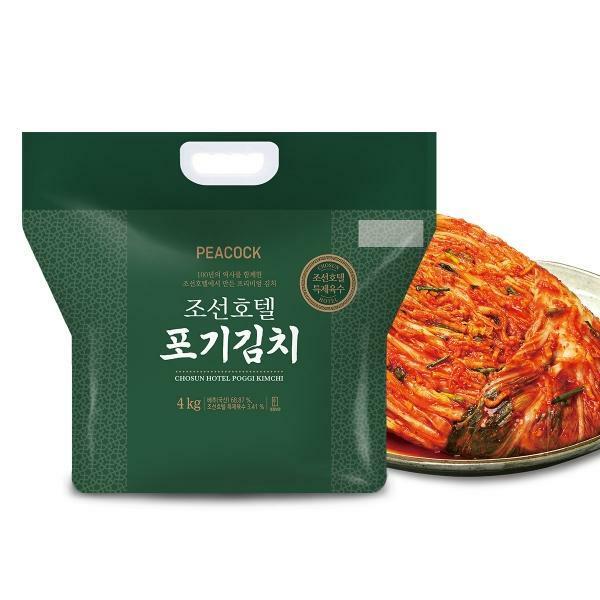 피코크 조선호텔 포기김치, 4kg, 1개
