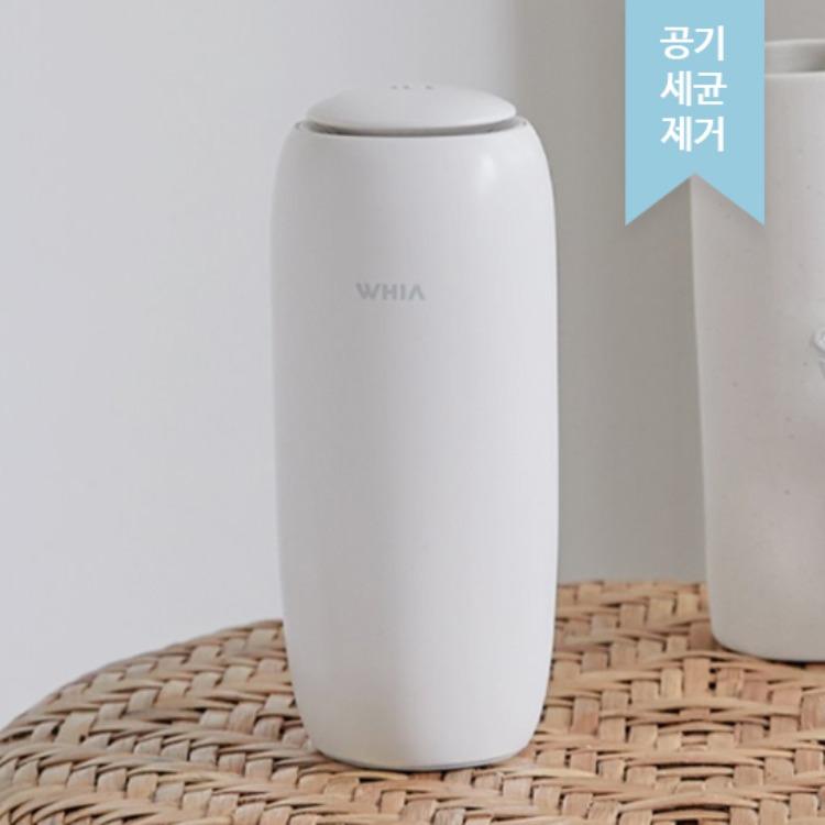 [주문폭주] 휘아 에어컵(AIR CUP) 이온 공기청정기, 에어컵이온공기청정기