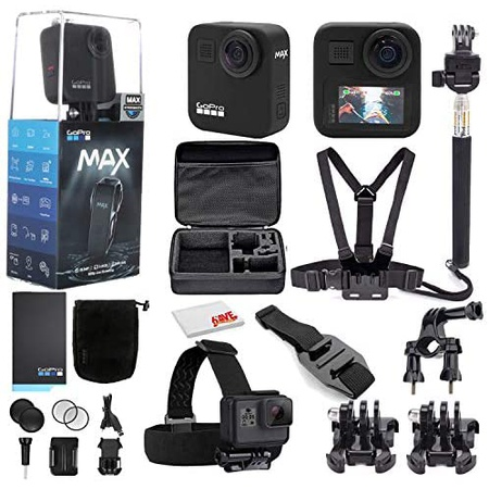 GoPro MAX 360 Waterproof Action Camera - Camera WTouch Screen - Spherical 5.6K30 HD Video - 16.6MP, 상세 설명 참조0