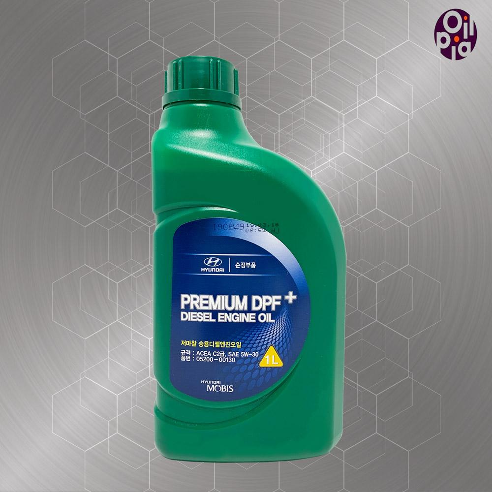순정부품 PREMIUM DPF+ 5w30 1L 디젤엔진오일 디젤 엔진오일, 1개, 05200-00130