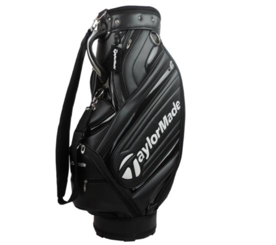 TM 테일러메이드 xx10 골프 가방 남자 골프 캐디백 입문자용 헤드커버 포함, 블랙