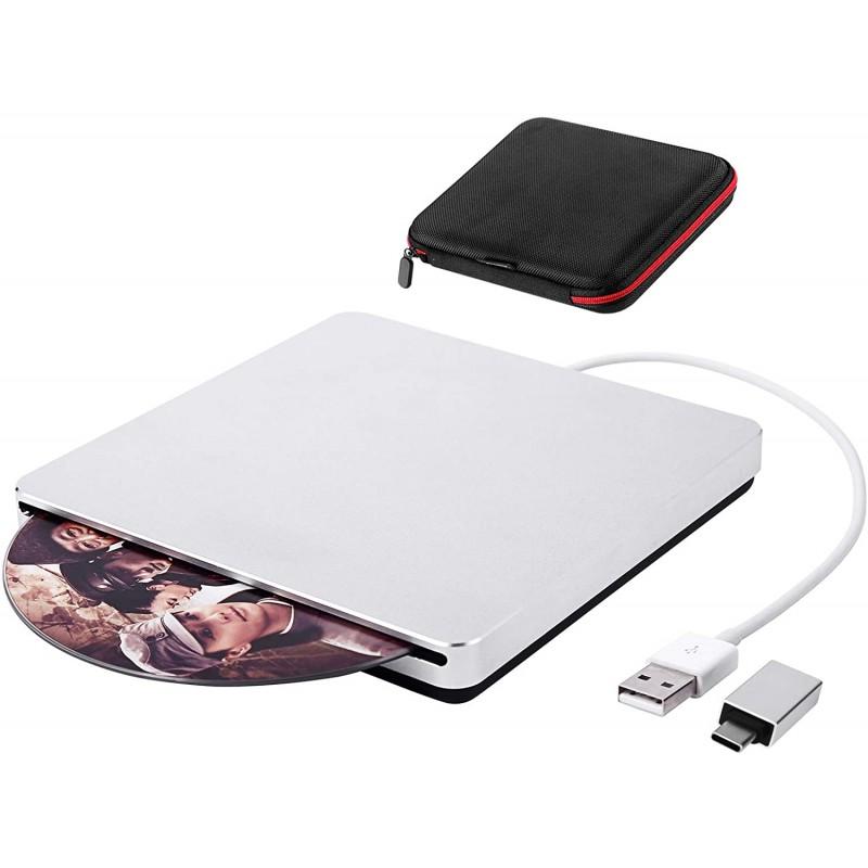 외장 CD 드라이브 USB 3.0 구마 슬롯 인 DVD 드라이브 Laptop Mac/MacBook Pro/Air/iMac PC Windows 10: 컴퓨터 및 액세서리, 단일옵션