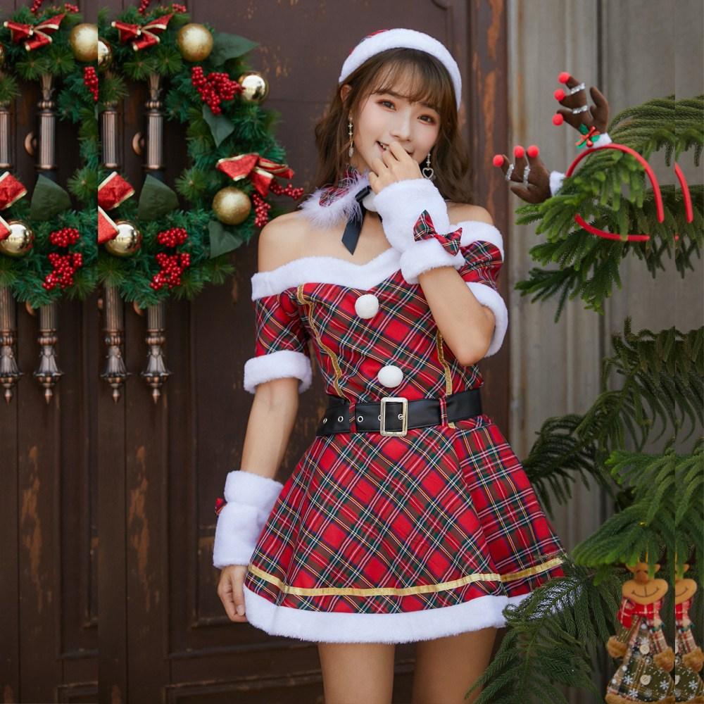 크리스마스의상 파티룩 클럽룩 크리스마스이벤트 원피스 o12632
