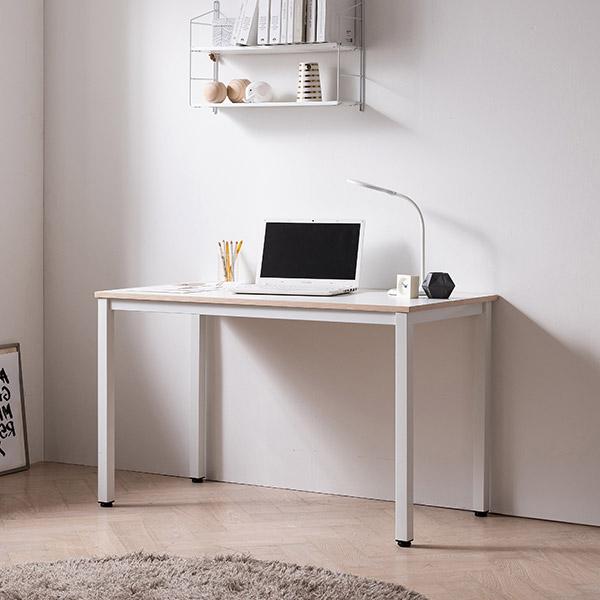 [삼익가구]워러블 철제 테이블 컴퓨터 책상 1200, 화이트+화이트