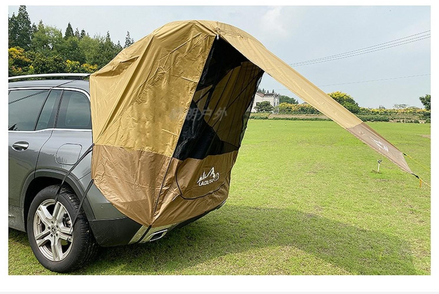 카캠핑 차크닉 차박용 타프 텐트 실 윙 도킹 트렁크 타프 카쉘터 레이 티볼리 투싼 차박
