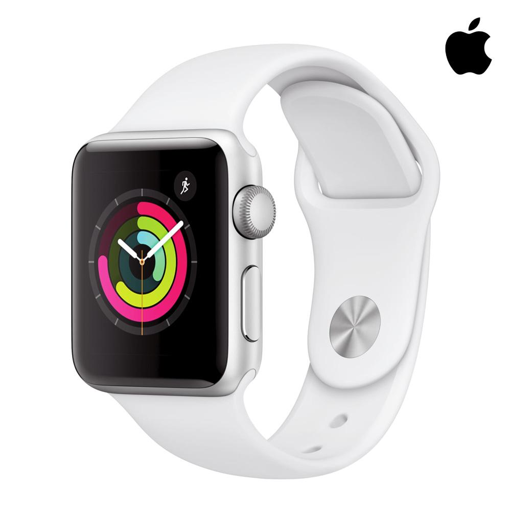 Apple 애플 워치3 38mm GPS 알루미늄 케이스 WHT, 1, Apple-Watch-Series-3-GPS-White