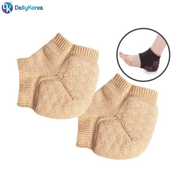 ⊙♭한정판매◎ 발건강용품 발바닥 뒷패드 쿠션서포터 발뒤꿈치 베이지 (v♭‡jH) 각질 D, 1개, ☞ 해당 상품 선택하기_KSuper™