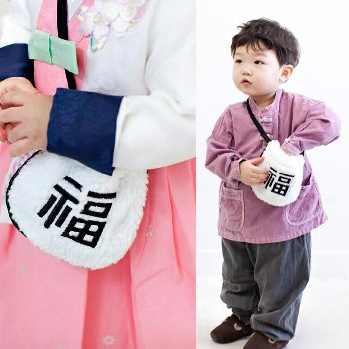 용돈주머니 복주머니 어린이 아기 명절 한복가방 용돈지갑+사은품증정 690