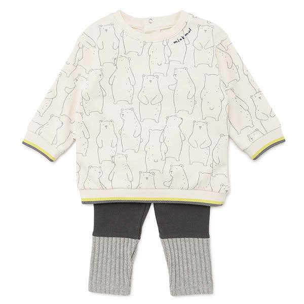[현대백화점]밍크뮤 (CR)베어프랜즈상하복 (39B13-610-02) 임신 신생아 출산 백일 돌 선물