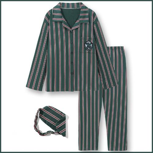 해리포터잠옷 안대 set 파자마 그리핀도르 슬리데린 커플 세트