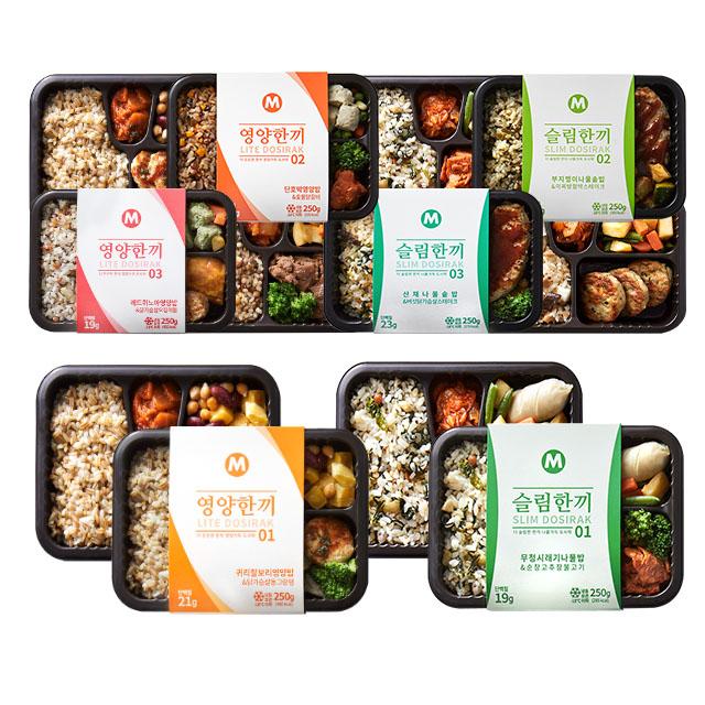 마이닭 맛있는 혼밥 8종 12팩 모음 골라담기, 09_무청시래기나물밥&순창고추장불고기 12팩
