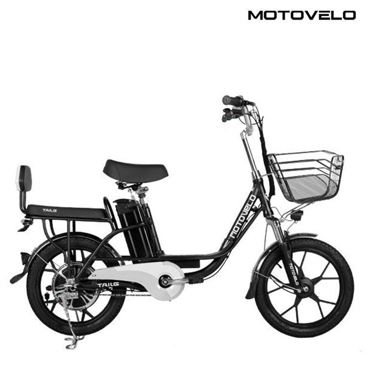모토벨로 G7 전기자전거 모터 350W 배터리10Ah, 옵션1. 블랙