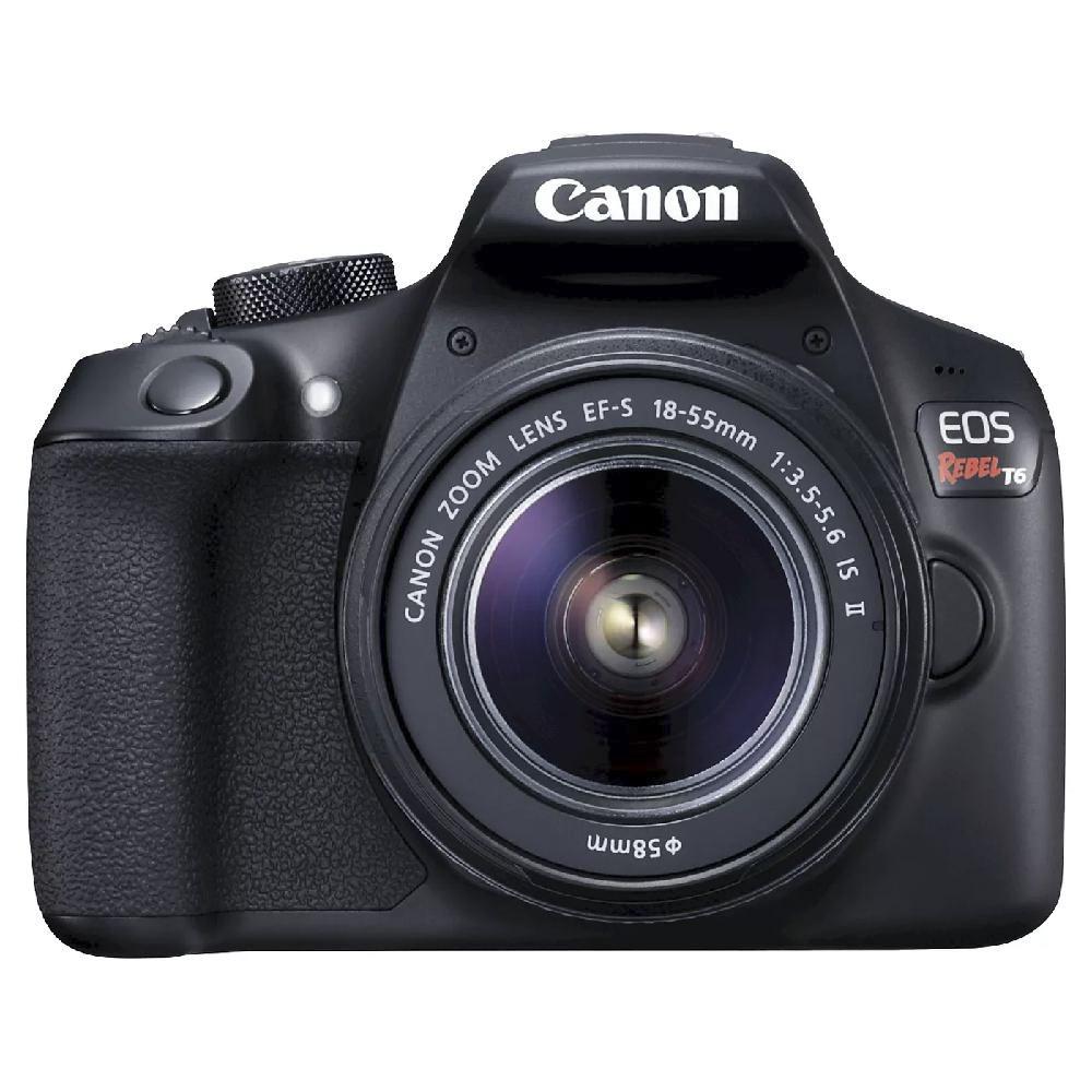 캐논 EOS Rebel T6 DSLR 카메라 EF-S 18-55mm 1 3.5-5.6 IS II 렌즈 포함, 1159C003