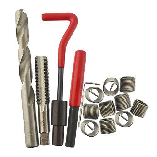 AB Tools-Neilsen M14 x 1.5mm 나사 수리 키트 / 헬리 코일 9pc 세트 손상된